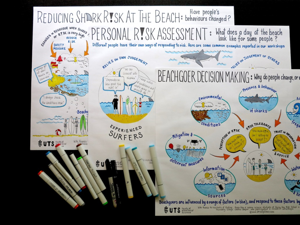 Shark risk management_Visuals_Dr Sue Pillans